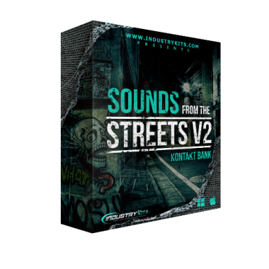 Sounds From The Streetz V2 [Drum Library]