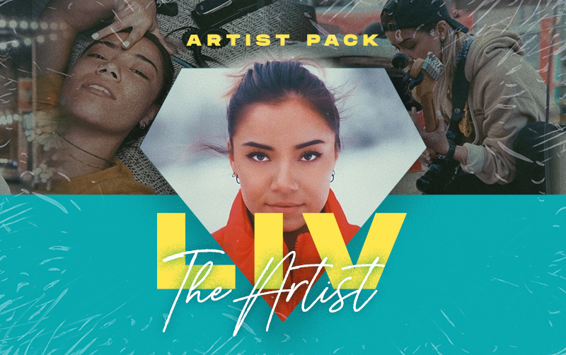 LIV THE ARTIST Guitar Pack