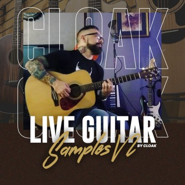 Live Guitar Samples V2 [ CLOAK ]