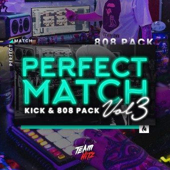 THE PERFECT MATCH Vol3 [Kick & 808 Pack]