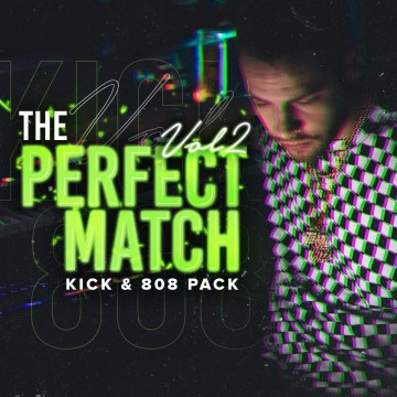 THE PERFECT MATCH Vol2 [Kick & 808 Pack]