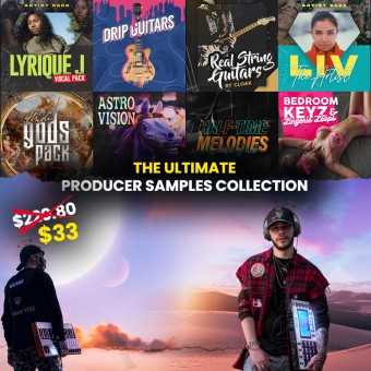 THE ULTIMATE PRODUCER SAMPLES COLLECTION BUNDLE [LIMITED]