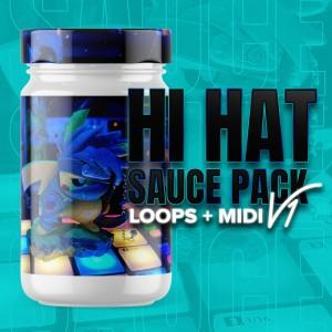 HiHAT SAUCE PACK V1 [Loops + MIDI]