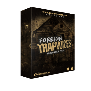 Foreign Trap Voices Vocal & Loop Pack