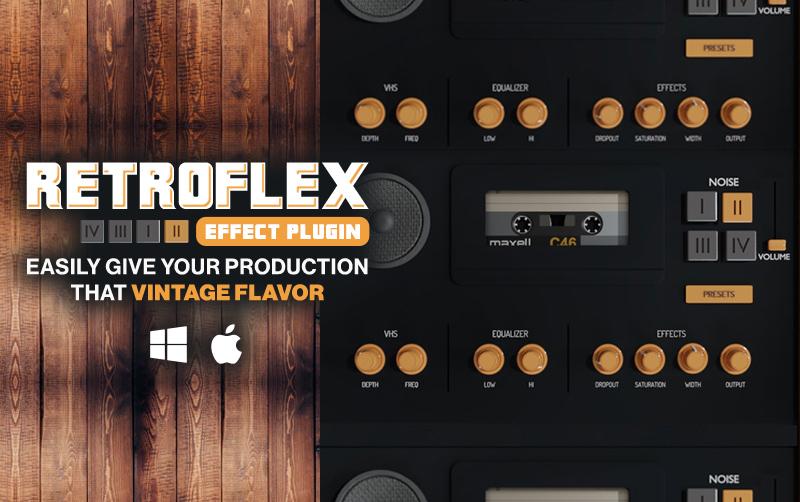 RetroFlex Vintage FX PlugIn